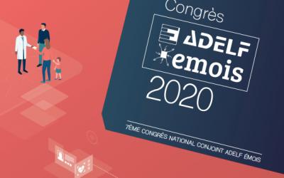 Congrès Adelf Emois les 12 & 13 mars 2020 !