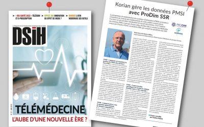 Un article Prodim dans DSIH !